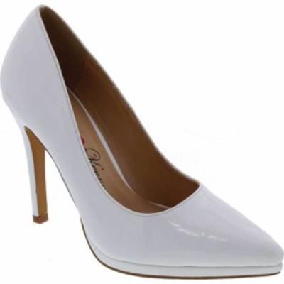 ペニー ラヴズ ケニー Penny Loves Kenny レディース パンプス シューズ・靴 Opus PL Pump White Patent