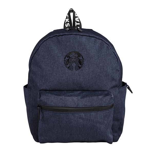星巴克藍色輕巧後背包