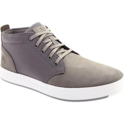 ティンバーランド メンズ シューズ スニーカー Davis Square Fabric/Leather Chukka Boot Medium Grey Nubuck/Cordura® Fiber