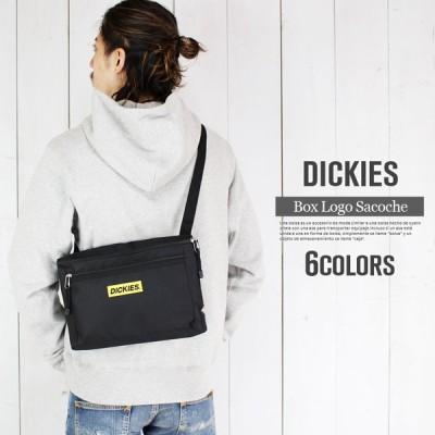Dickies ショルダーバッグ ロゴデザイン ディッキーズ サコッシュバッグ メンズ 旅行 トラベル シンプル カジュアル 自転車 ブランド