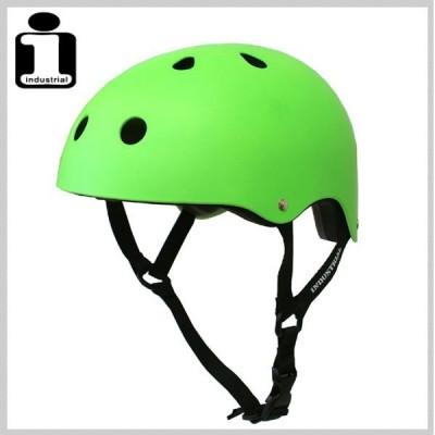 INDUSTRIAL インダストリアル ヘルメット NEON GREEN スケボー スケートボード インライン用 プロテクター