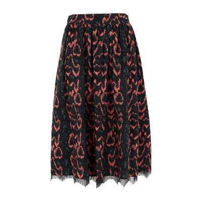 カルバン クライン CALVIN KLEIN 7分丈スカート ディープジェード 34 ポリエステル 100% 7分丈スカート