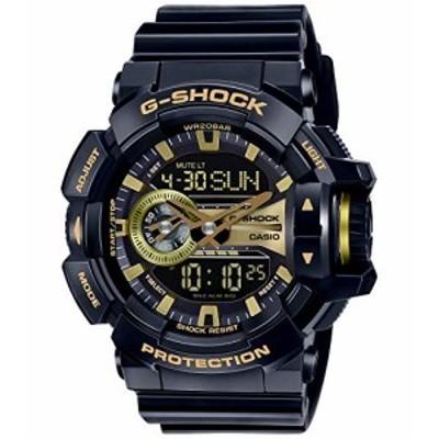 腕時計 カシオ メンズ Casio Men's GA400GB-1A9 Black Resin Quartz Watch
