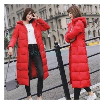 ダウンコート コート ダウンジャケット アウター ブルゾン レディース ロング 40代 きれいめ 大きいサイズ 膝丈 暖かい 防寒 厚手 羽織りゆったり 冬新作 30代