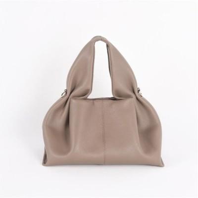 【2021春・夏バッグ】ミニバッグ 本革  フリルハンドル持ち手かわい ちょっとしたお出掛けに持ちたいミニバッグ  デザインバッグ[4色展開]