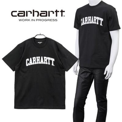 カーハート ダブリューアイピー Carhartt WIP Tシャツ UNIVERSITY I028990-8990 BLACK/WHITE