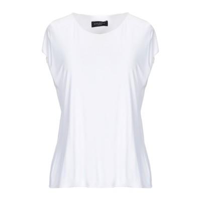 ピアッツァ センピオーネ PIAZZA SEMPIONE T シャツ ホワイト 46 レーヨン 100% T シャツ