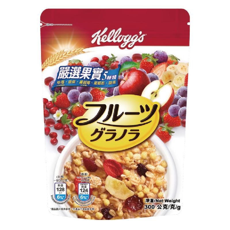 家樂氏日式水果穀片嚴選果實