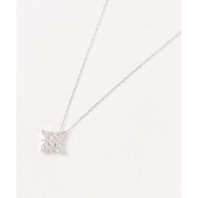 con affetto / K18ダイヤクリスタルネックレス WOMEN アクセサリー > ネックレス