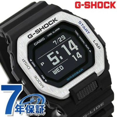 G-SHOCK Gショック Gライド Bluetooth タイドグラフ メンズ 腕時計 GBX-100-1DR CASIO カシオ 時計 ブラック 黒