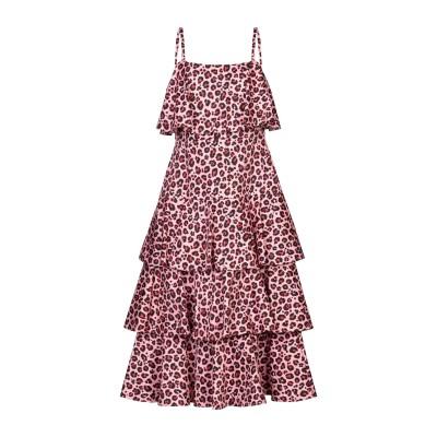 SE-TA Rosy Iacovone 7分丈ワンピース・ドレス ピンク 42 コットン 97% / ポリウレタン 3% 7分丈ワンピース・ドレス