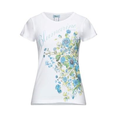 ブルマリン BLUMARINE T シャツ ホワイト 40 コットン 100% T シャツ