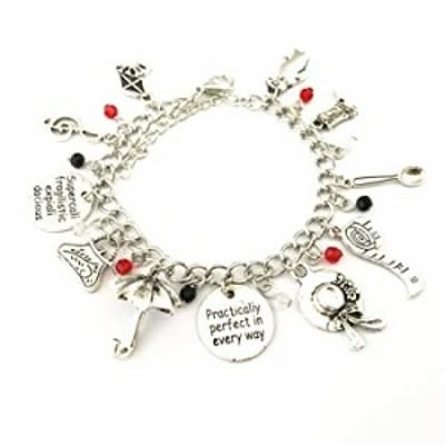 Universe of Fandoms Mary Poppins Charm Bracelet Gifts for Women girl