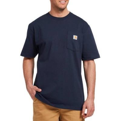 カーハート メンズ シャツ トップス Carhartt Men's Workwear Pocket T-Shirt (Regular and Big & Tall)