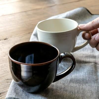 マグカップ 320ml B.N.シリーズ 陶器 コップ 食器 日本製 ( 食洗機対応 洋食器 電子レンジ対応 マグ カップ 食洗機 対応 )