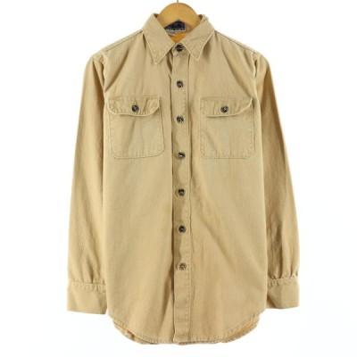 70年代 パタゴニア Patagonia 白タグ 長袖 コットンキャンバスシャツ メンズS ヴィンテージ /eaa152316