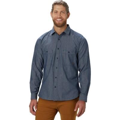 (取寄)マウンテンハードウェア レッジ ロングスリーブ シャツ - メンズ Mountain Hardwear Cathedral Ledge Long-Sleeve Shirt - Men's Chambray
