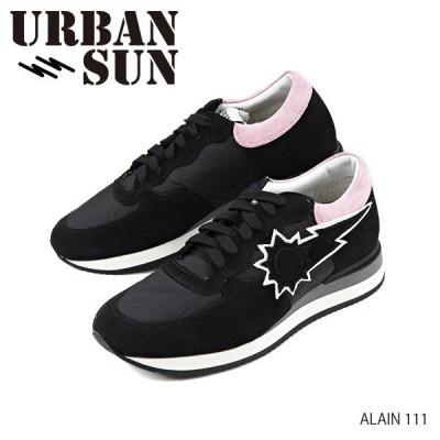 URBAN SUN アーバンサンメンズ ALAIN111 アレイン スニーカー ローカット スエードレザー