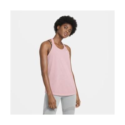 (取寄)ナイキ レディース ドライ レス エラスティカ タンク Nike Women's Dry Less Elastika Tank Pink Glaze Heather White