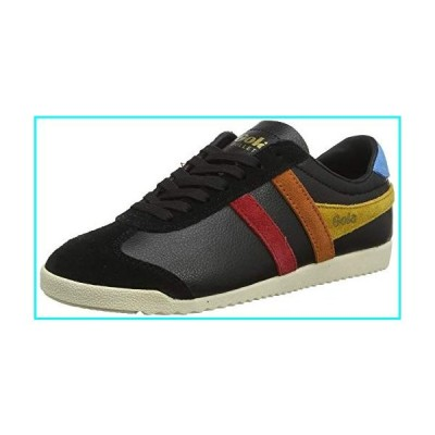 Gola Bullet Trident Womens Casual Trainers in Black Multicolour - 7 US