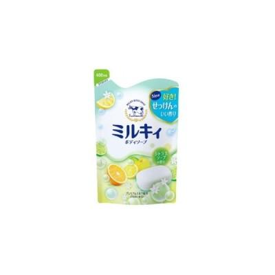 牛乳石鹸 ミルキィ ボディソープ シトラスソープの香り 詰替用 400ml