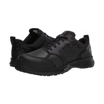 Timberland PRO ティンバーランド レディース 女性用 シューズ 靴 スニーカー 運動靴 Reaxion Composite Safety Toe - Black/Black