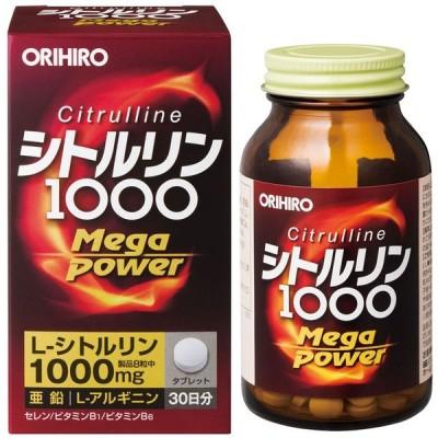 Sale  オリヒロ シトルリン MegaPower1000 240粒