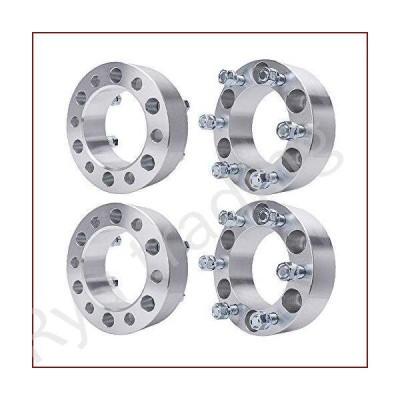"""新品BRTEC 4pcs Wheel Spacers 2"""" Thick/6x5.5'' Pattern/Inner Diameter: 4.25""""/108mm Fits 1997-2013 for Chevy Express/Silverado/Suburban; 200"""