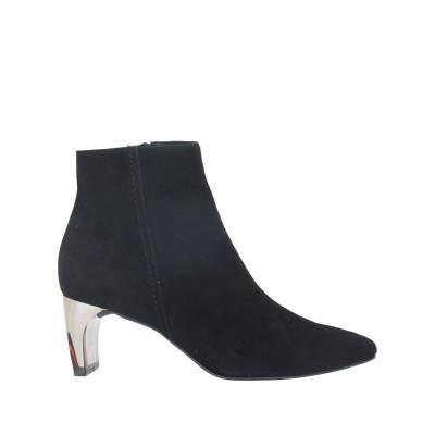 DANIELE ANCARANI ショートブーツ ブラック 35 革 ショートブーツ