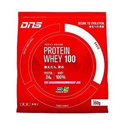 DNS/プロテインホエイ100/いちごミルク風味/350g