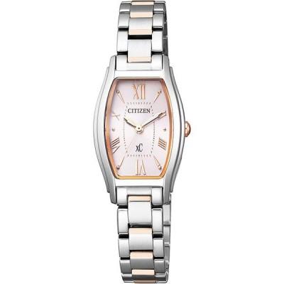EW5544-51W XC クロスシー CITIZEN シチズン ピンクゴールド ライトシルバー レディース 腕時計 国内正規品 送料無料
