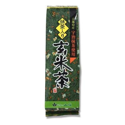 山城 京都府産宇治抹茶使用 抹茶入り玄米茶 200g