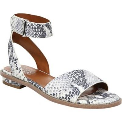 フランコサルト レディース サンダル シューズ Maxine Ankle Strap Sandal Grey Multi Washed Snake Leather