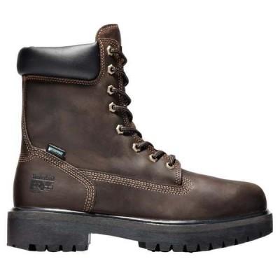 ティンバーランド メンズ ブーツ・レインブーツ シューズ Direct Attach 8 Inch Elecrtrical Soft Toe Work Boots