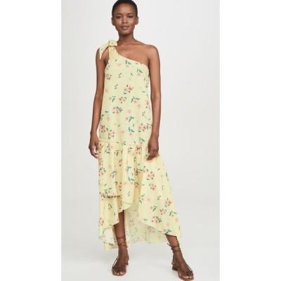 パロマ ブルー PALOMA BLUE レディース ワンピース ワンピース・ドレス Giselle Dress Fleur Yellow