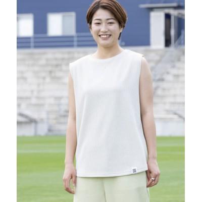 (URBAN RESEARCH/アーバンリサーチ)FC今治×URBAN RESEARCH ワッフルママTシャツ/レディース GREGE
