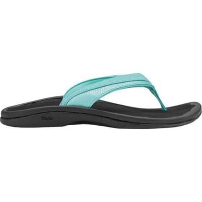 オルカイ OluKai レディース シューズ・靴 ビーチサンダル Ohana Flip Flop Sea Glass/Black