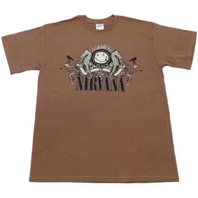 NIRVANA ROCK BAND SS TEE(ニルヴァーナロックバンド半袖Tシャツ)