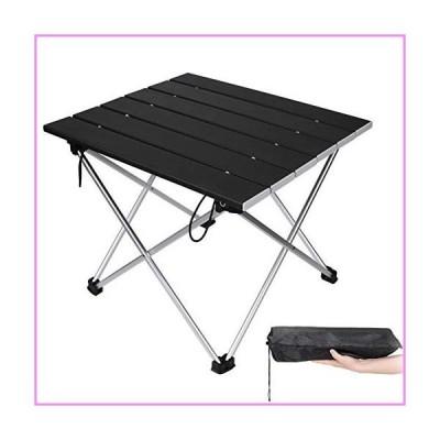 【送料無料】Portable Camping Table,Aluminum Folding Table Ultralight Camp Table Prefect for Outdoor, Picnic, BBQ, Festival, Beach, Hom