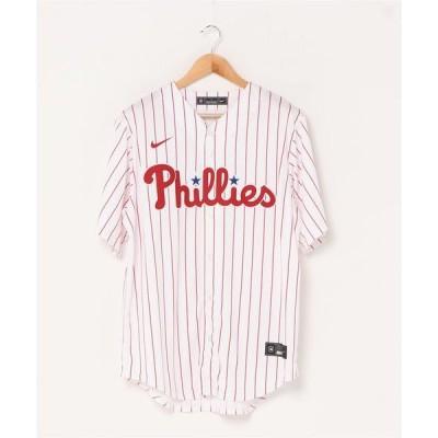 tシャツ Tシャツ ナイキ フィラデルフィア・フィリーズ オフィシャルレプリカジャージー(ホーム)/ NIKE PHILADEPLHIA PHILLI