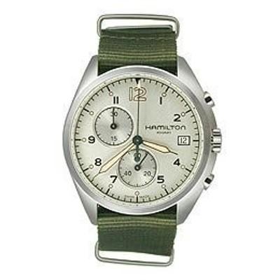 ハミルトンパイロットパイオニアクロノクオーツメンズ腕時計# h76552955