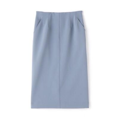 ◆T/Rダブルクロスタイトスカート ブルー