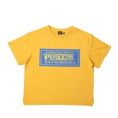 ペンドルトン半袖Tシャツ BOX LOGO TEE 9275-6354 20 イエローM