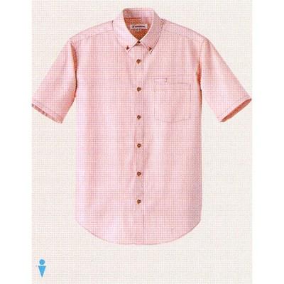 WH7607 男性用ボタンダウンシャツ 全3色 セブンユニフォーム