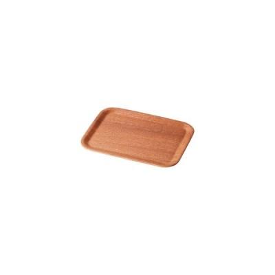 いちがま レッドマホガ二ー 長角トレー(20×27) 1枚