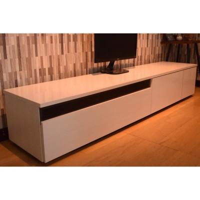 国産 200cm幅ローボード TV テレビ台 完成品 TV台 TVボード おしゃれ AVラック テレビボード シンプル 収納 日本製