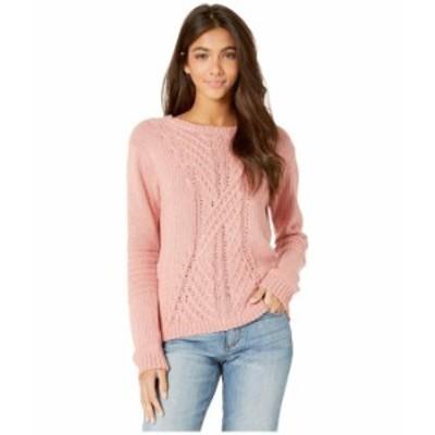 ロキシー レディース ニット・セーター アウター Glimpse Of Romance Crew Neck Sweater Rosette