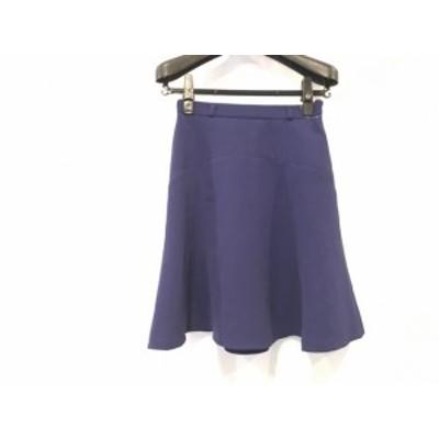 ジャスグリッティー JUSGLITTY スカート サイズ0 XS レディース ネイビー【中古】