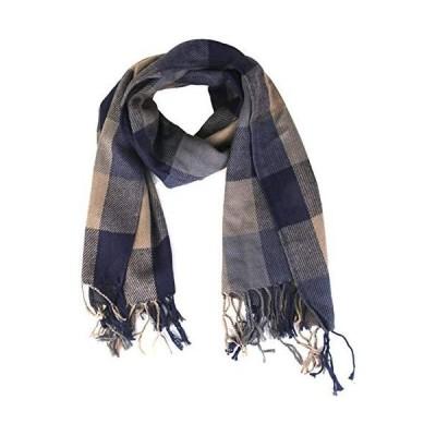 TXXM Fashion Womens Long Cashmere Scarf Tassel Plaid Shawl Wrap Warm Winter