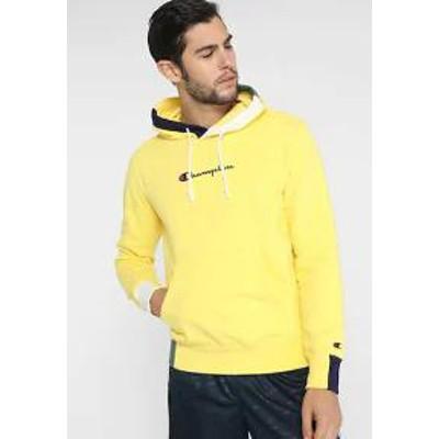 Champion メンズトップス Champion HOODED - Hoodie - yellow yellow